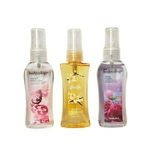 Set of 3 mini body mists for women:Bodycology Truly Yours 2.0 ozBodycology...