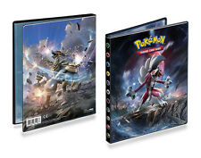 4-Pocket A5 80-card Capacity Lycanroc Kommo-o-Art Pokemon Album Portfolio Folder