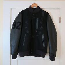 Nike Air Destroyer Leather Wool Varsity Jacket Black 802644 010 L nikelab acg