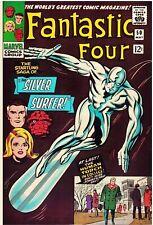Fantastic Four #50 Facsimile Reprint Cover Only w/Original Ads 3rd Silver Surfer