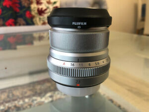 Fujinon XF23mm F2 R Weather Resistant Lens ( SILVER )