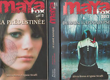 MAYA FOX 2012 tomes 1 à 3 BRENA STRAFFI roman fantastique SERIE livre