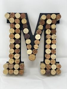 Wine Cork Monogram Initial Personalized Wall Art Gift Wine Decoration Letter I