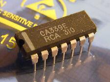 10x CA339E Quad Differential Analog Comparator, RCA
