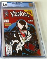 VENOM LETHAL PROTECTOR #1 CGC 9.6 RED FOIL / GUEST SPIDER-MAN 1ST OWN TITLE