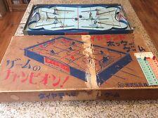 1960 Yonezawa Diamond Hockey Table Hockey-Very Rare -Munro,eagle,Coleco