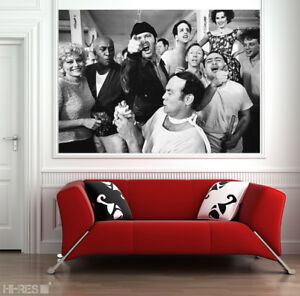 One Flew Over the Cuckoo's Nest MOVIE POSTER no. 2 PHOTO PAPER 50x35 Wall Art !!