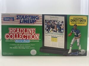 1992 Emmitt Smith NFL Starting Lineup Headline Collection Dallas Cowboys (121)