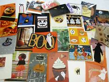 40+ HALLOWEEN Greeting Card Lot UNUSED Hallmark Carlton and More Mixed Lot