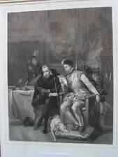 Original-Stahlstiche (1800-1899) aus Frankreich mit Porträt & Persönlichkeiten