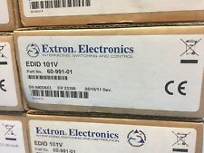 New in Box! Extron EDID 101V Emulator with Minder for VGA  #60-991-01  (LocR1)