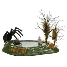 Dept 56 Halloween Snow Village Animated Nightmare Giant Spider 4057615 NIB NEW