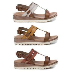 XTI Mujer Sandalias Cuñas Verano Zapatos Chanclas 23021