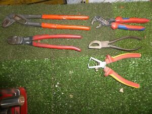 KNIPEX=LOT OF 5 TOOLS