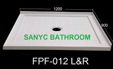 NEW SANYC FPF-012 Left OR Right Shower Base 1200*900*80 Acrylic
