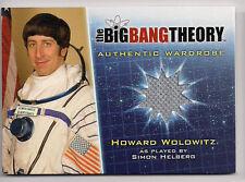 Big Bang Theory Season 5 Costume Card M25 Howard Wolowitz