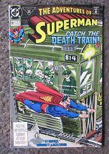 "DC COMICS ""THE ADVENTURES OF SUPERMAN"" #481 AUG.1991 VF+/VF 8.5 OOP COMIC"