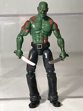 """Marvel Universe Drax The Destroyer 3.75"""" Figure Guardians Galaxy Rare As-Is"""