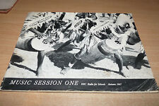 BBC RADIO FOR SCHOOLS AUTUMN 1967 - MUSIC SESSION ONE - VINTAGE PAPERBACK