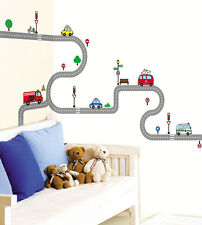 SS58241 Rd Road Removable WALL DECOR Mural Decal STICKER DIY Nursery