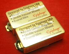 Set Original Epiphone Gold Classic Probucker 4 wires Pickups Fit Les Paul SG