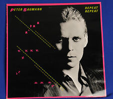 Peter Baumann - Repeat Repeat - LP Record/Vinyl 1981 Virgin Rec. 204014 AE 260