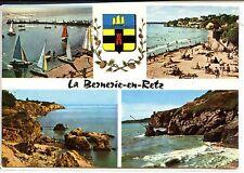 CP 44 - LOIRE-ATLANTIQUE - La Bernerie-en-Retz - Multivues couleurs - Blason