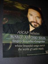 MARCO ANTONIO SOLIS Singer Storyteller Songwriter photo image PROMO DISPLAY AD