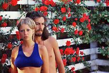 "The Beatles George Harrison, Patty Boyd  Photo Print  14 x 11"""