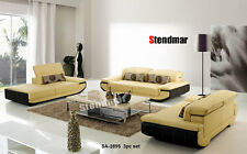 3pc New Modern Euro Design Leather Sofa Set Sa2895