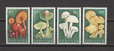 Pilze, Mushrooms - Färöer - 311-314 ** MNH 1997