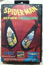 SEGA MASTER SPIDERMAN RETURN OF THE SINISTER SIX COMPLETE