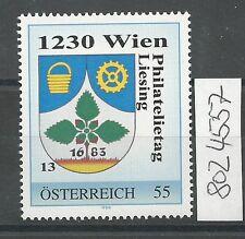 Österreich PM personalisierte Marke Philatelietag 1230 WIEN 8024557 **