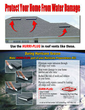 Minimize Water Damage from Roof Vents - Secondary Water Barrier - Box of 3