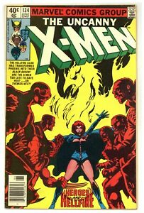 X-Men 134 Dark Phoenix vs. Hellfire Club Byrne Claremont 1980 Marvel Comics B929