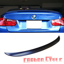 Unpainted For BMW 4DR F30 High Kick Performance Boot Trunk Spoiler ABS