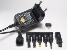 600mA Universal Netzteil 3V 4,5V 5V 6V 7,5V 9V 12V DC + Adapter + USB + Klinke