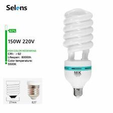 Studio 150W 5500K 220V LED Lamp Bulb Energy Saving For Flash Umbrella Lighting