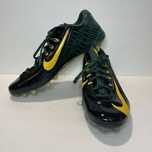 Nike Mens Football Cleats Vapor Carbon Elite 2.0 Size 15 Green Yellow 657441-012