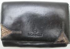 -AUTHENTIQUE portefeuille B. CAVALLI  cuir (T)BEG vintage
