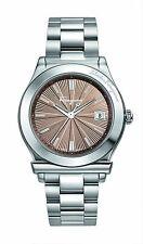Ferragamo Men's FF3050013 FERRAGAMO 1898 Brown Dial Stainless Steel Date Watch