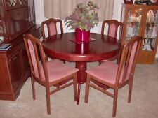 Up to 4 Vintage/Retro Round Dining Tables Sets