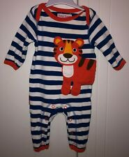 Baby Boys Toby Tiger Romper Size 0-3 Months