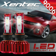 XENTEC LED HID Headlight Conversion kit 9006 6000K for 1988-1991 Honda CRX