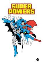 1988 Super Powers BATMAN & SUPERMAN Art : Justice League