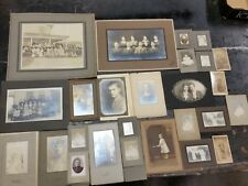 Vintage Photo Lot of 26 Photos of Various Sizes