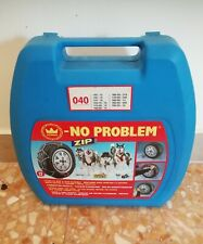 CATENE AUTO KONIG NO PROBLEM ZIP-MAI USATE!!