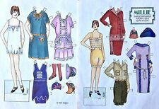 Millie, a Modern Miss from 1923 Paper Doll, 1991 Doll Reader Mag.