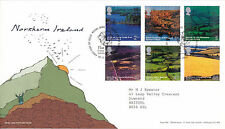 16 March 2004 Northern Ireland A British Journey First Day Cover Bureau Shs (a)