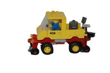 Lego 9V + RC Eisenbahn TRAIN 4546 Schienenfahrzeug Waggon WAGON CAR